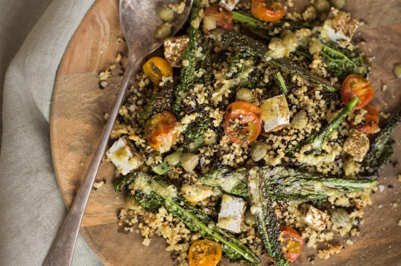 Crispy Quinoa Salad